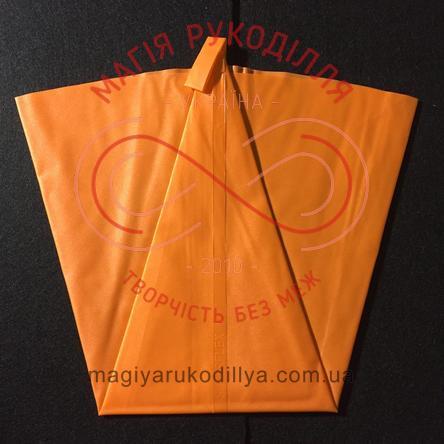 Кондитерський мішечок силіконовий 4л*46см - помаранчевий (по штучно)