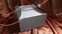 Кондитерська/подарункова коробка для торта (мікрогофра) 250*250*150 - білий