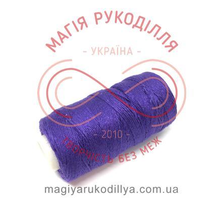 Нитка джинсова - відтінки фіолетового 13840