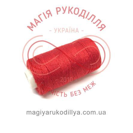 Нитка джинсова - відтінки червоного 13852