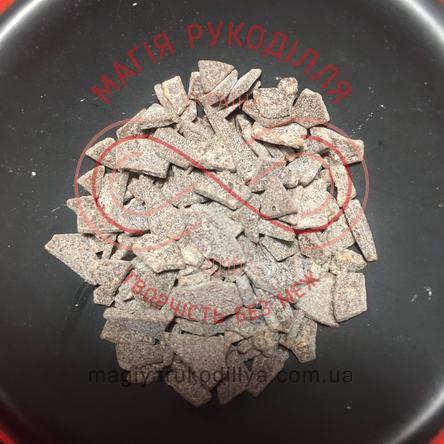 Кондитерські складові шоколадна глазур крихти - коричневий