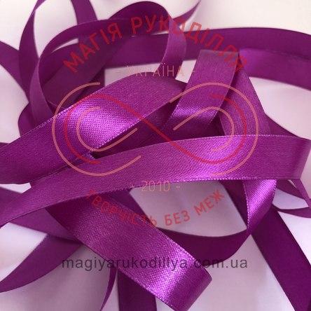 Стрічка Peri атласна 16мм (Китай) - №102 відтінки фіолетового