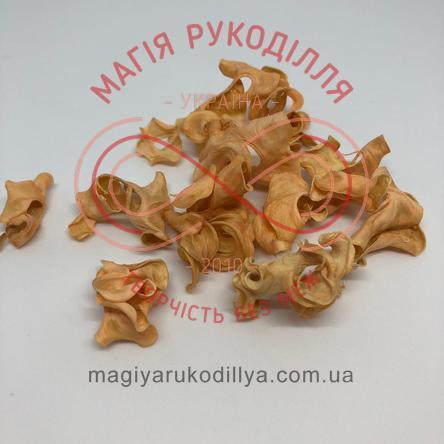 Природний матеріал сухоцвіт декоративний пелюстки (40гр) - бежевий