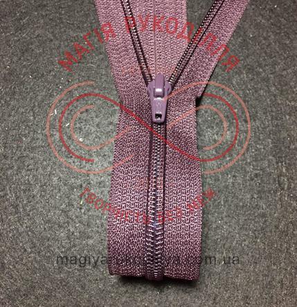 Блискавка роз'ємна спіраль (Китай АТА) 40см (тип 5) - відтінки шоколадного