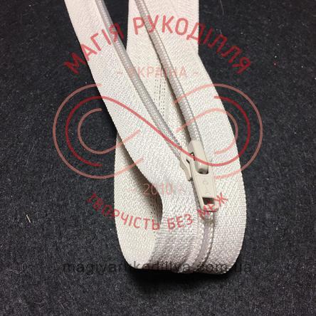Блискавка роз'ємна спіраль (Китай АТА) 40см (тип 5) - відтінки бежевого