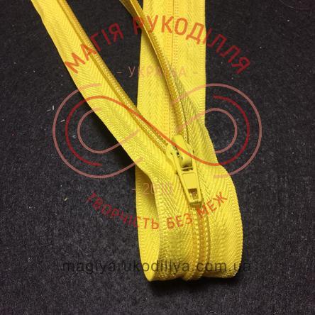 Блискавка роз'ємна спіраль (Китай АТА) 40см (тип 5) - відтінки жовтого