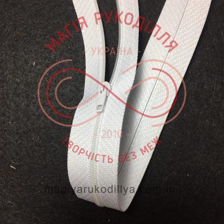 Молния для платья (Китай) 50см (тип 3) - белый
