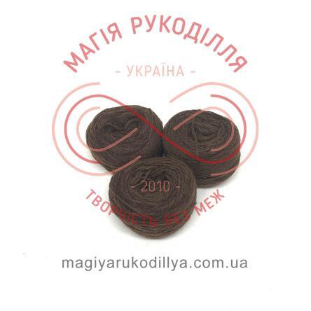 Нить акриловая для вышивания - №136 / 140 оттенки шоколадного