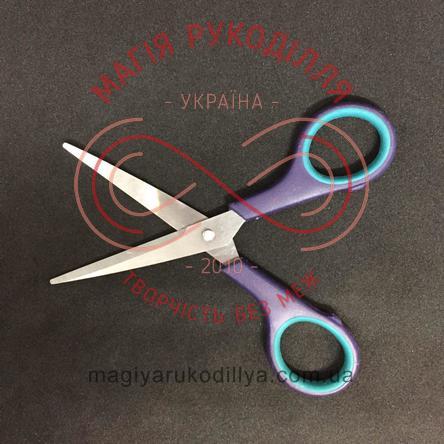 Ножиці кравецькі пластикова ручка довжина леза 5,5см, загальна довжина 14,5см - №5