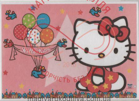 Кондитерська вафельна картинка рисовий папір 30*21 - Hello Kitty/1