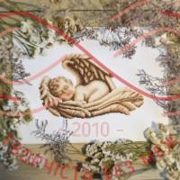 Набір для вишивання хрестиком - П2-007/Р Сплячий янгол
