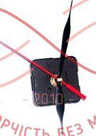Часовой механизм дискретный ход секунд стрелки / 56 * 56 * 16 / шток без резьбы / набир6од. - МС4-01