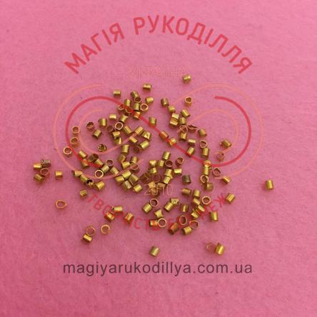 Стопер d1мм h1мм - золотистий