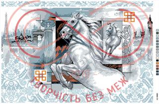 Схема на канві для вишивання хрестиком картина - А2-16-025