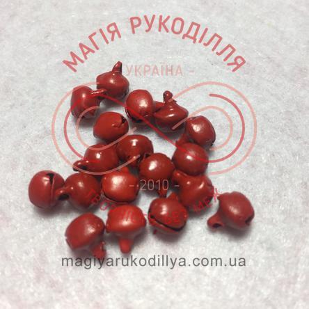 Дзвоник металевий d6мм - теракотовий