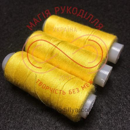 Нитка 777/Rocket універсальна - відтінки жовтого