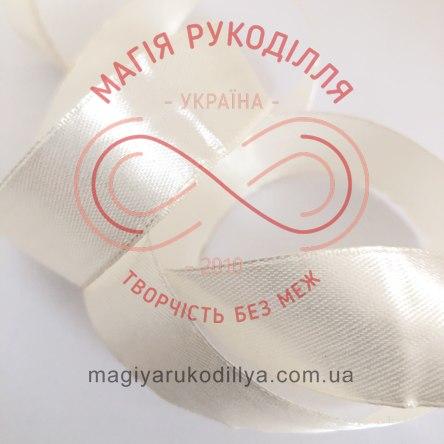 Стрічка Peri атласна 10мм(Китай) - №003 відтінки молочного