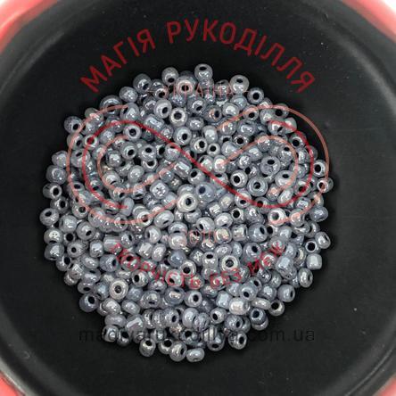 Бісер Китай 12/50грам - №093/149 сірий перлистий