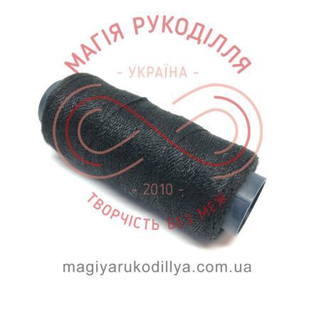 Нитка для ручного шиття №30 - чорний 13858