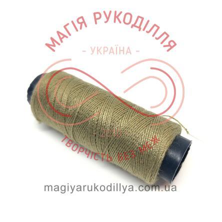 Нитка для ручного шиття №30 - відтінки хакі