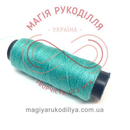 Нитка для ручного шиття №30 - відтінки бірюзового 13861