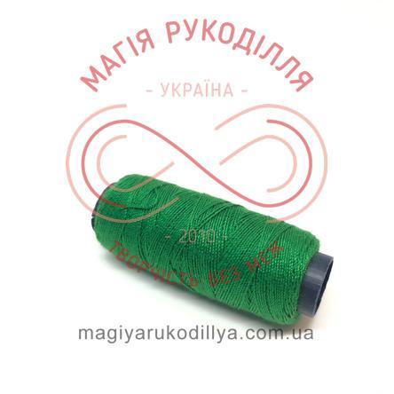 Нитка для ручного шиття №30 - відтінки зеленого 13862