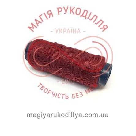 Нитка для ручного шиття №30 - відтінки бордового 13863