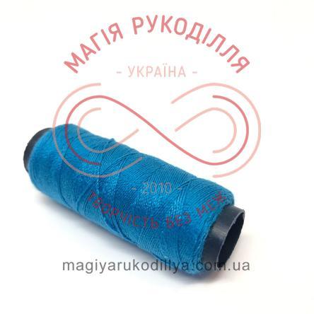 Нитка для ручного шиття №30 - відтінки синього