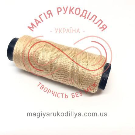 Нитка для ручного шиття №30 - відтінки бежевого