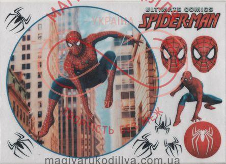 Кондитерська вафельна картинка рисовий папір 30см*21см - SPIDER-MAN