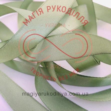 Стрічка Peri атласна 51мм (Китай) - №138 відтінки зеленого