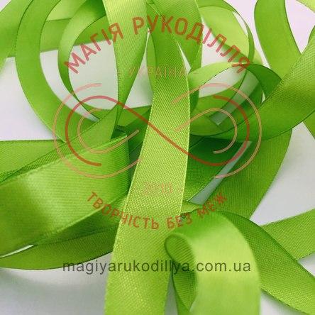 Стрічка Peri атласна 51мм (Китай) - №143 відтінки салатового неонового