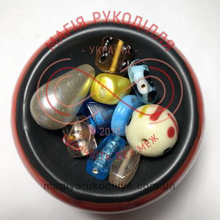 Намистинка Чехія - різних кольорів та форм