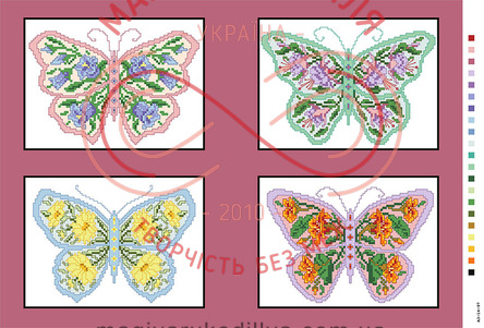 Схема на канві для вишивання хрестиком картина - А3-14-97