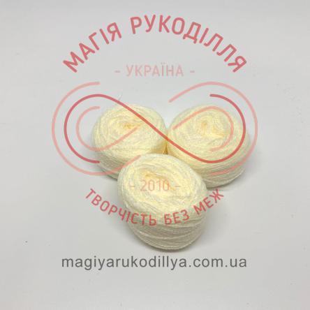 Нить акриловая для вышивания - №003 / 802 экрю