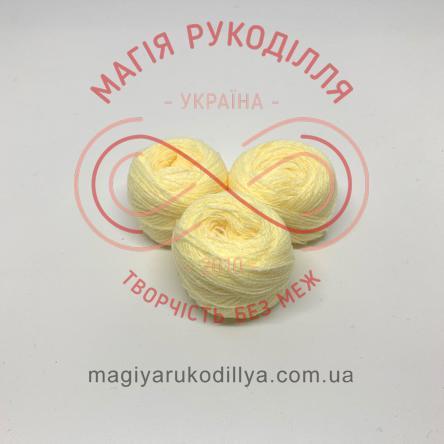 Нитка акрилова для вишивання - №004 відтінки жовтого