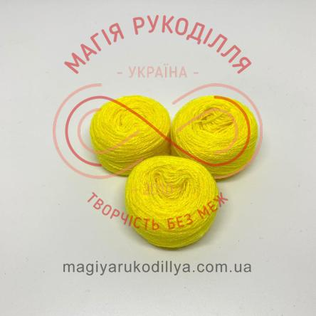 Нитка акрилова для вишивання - №006/804 відтінки жовтого