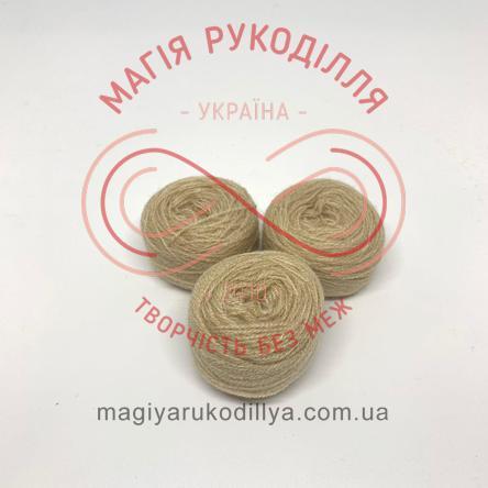 Нитка акрилова для вишивання - №011/102 відтінки бежевого