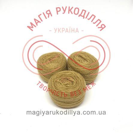 Нить акриловая для вышивания - №018 оттенки горчичного