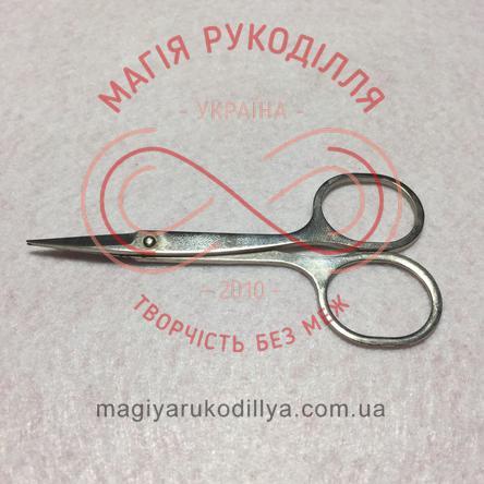 Ножиці манікюрні сталеві рівний верх