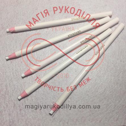 Олівець водозникаючий - білий