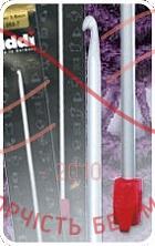 Гачок для туніського в'язання тефлон Addi h30см d2,0;2,5;3,5;4,0