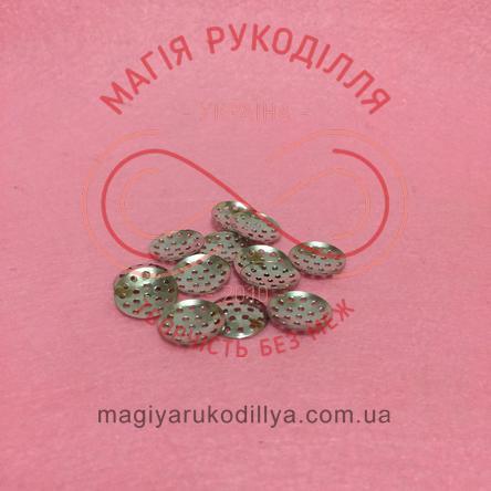Основа для брожки сито кругле d1,4см - сріблястий