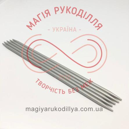 Спиці панчішні тефлонове покриття (набір 5шт.) 4,5/20см