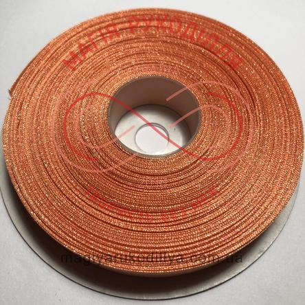 Стрічка атласна 12мм/32,9м (Китай) - відтінки пудрового