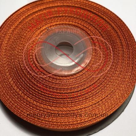 Стрічка атласна 12мм/32,9м (Китай) - відтінки помаранчевого
