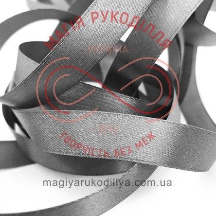 Стрічка Peri атласна 10мм(Китай) - №127 відтінки сірого