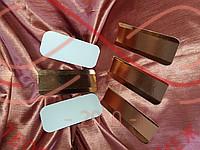 Кондитерська підложка під еклер 7см*16см - золото/білий