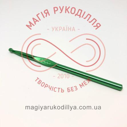 Гачок для в'язання метал без ручки h15см d6,0 - кольоровий