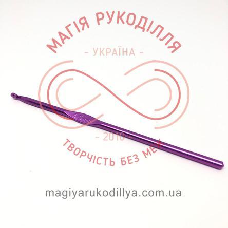 Гачок для в'язання метал без ручки h15см d4,5 - кольоровий